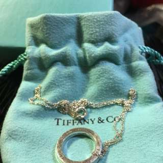 Tiffany Ring & Necklace 戒指連頸鏈項鏈