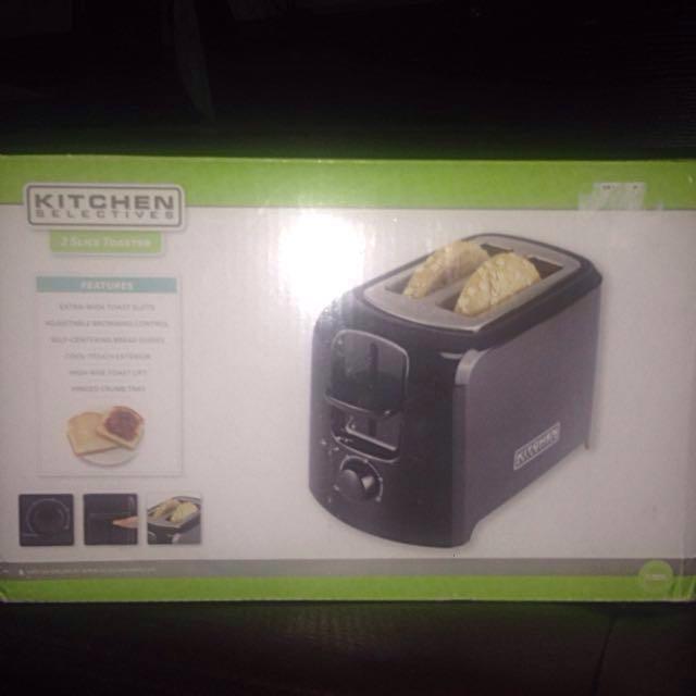 2 Slice Toaster 120V