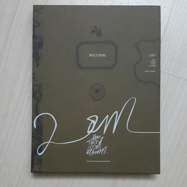 2AM 3rd Mini Album Nocturne