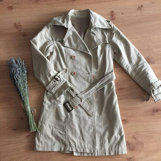 騎士風長版外套
