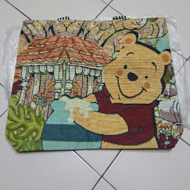 【🆕】🛍小熊維尼購物袋