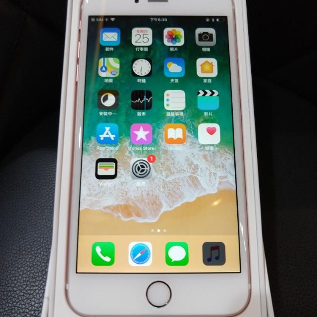 高雄-二手 Second iPhone 6S Plus 64G Pink