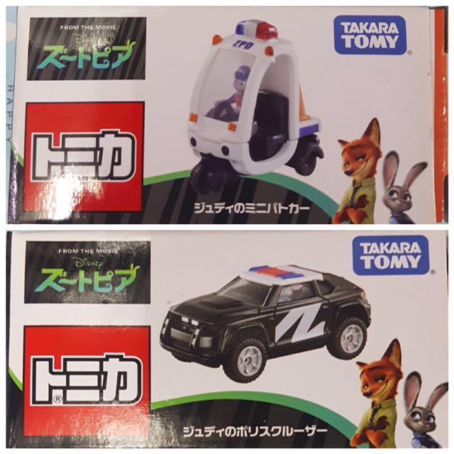 全新 Tomica Zoo Topia 動物方城市 警車系列