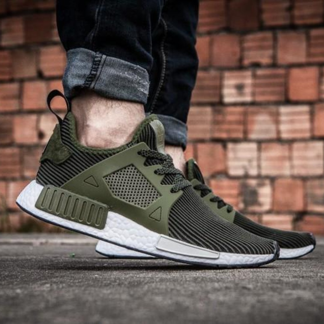 finest selection 91909 3dc20 ADIDAS NMD XR1 OLIVE GREEN, Mens Fashion, Footwear, Sneakers