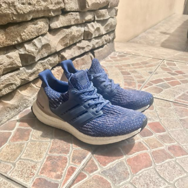 1691ed6fb ... czech adidas ultra boost 3.0 mystery blue preloved womens fashion shoes  on carousell 828e8 2d6b8