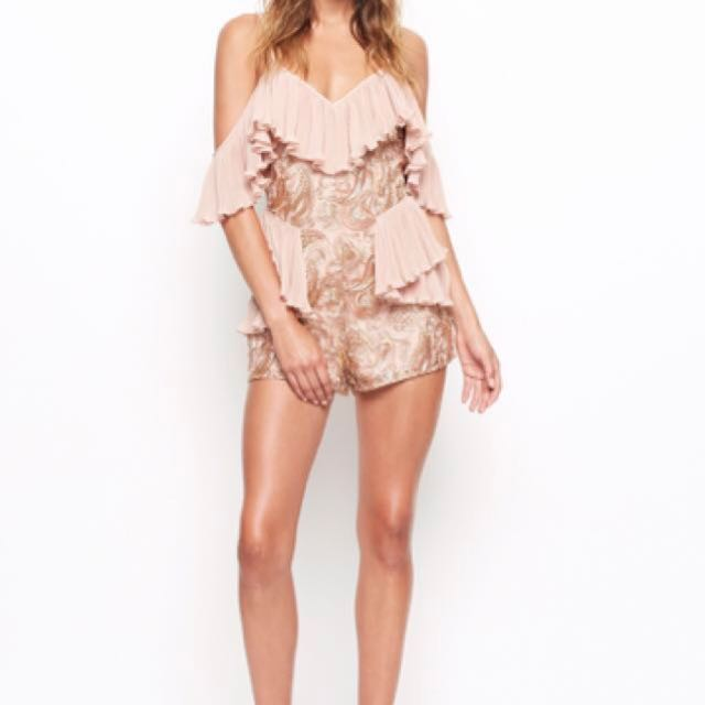 Alice McCall let's get loud play suit