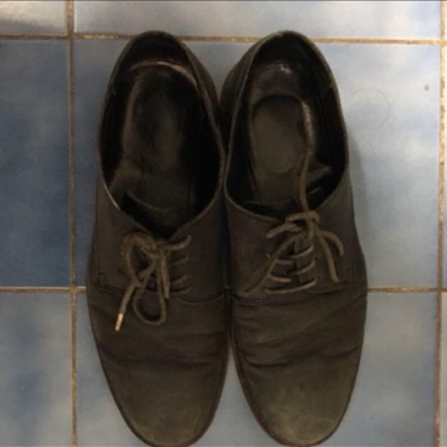 Allsiants作舊皮鞋