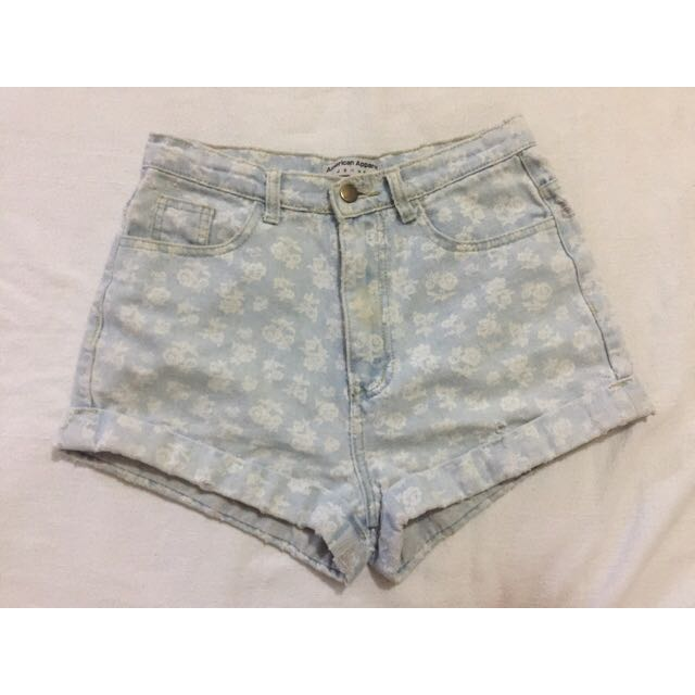 AMERICAN APPAREL HIGHWAIST SHORTS