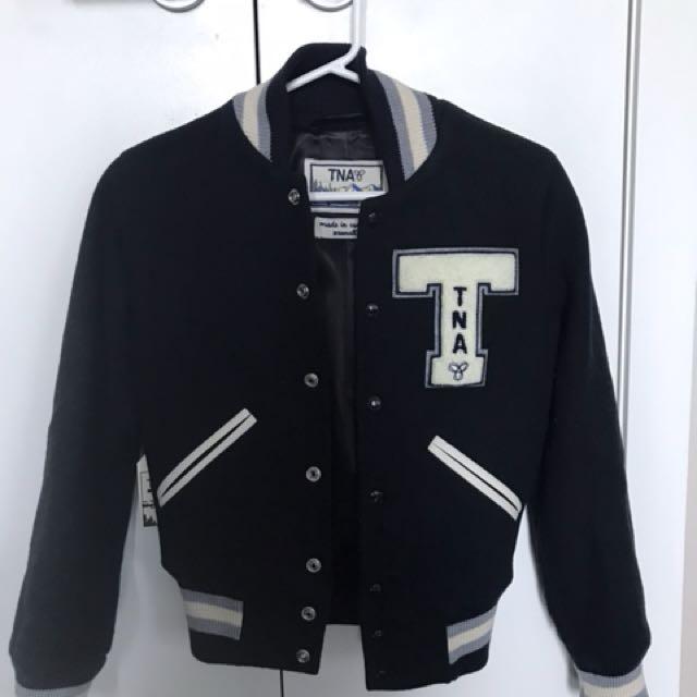 Aritzia TNA varsity jacket