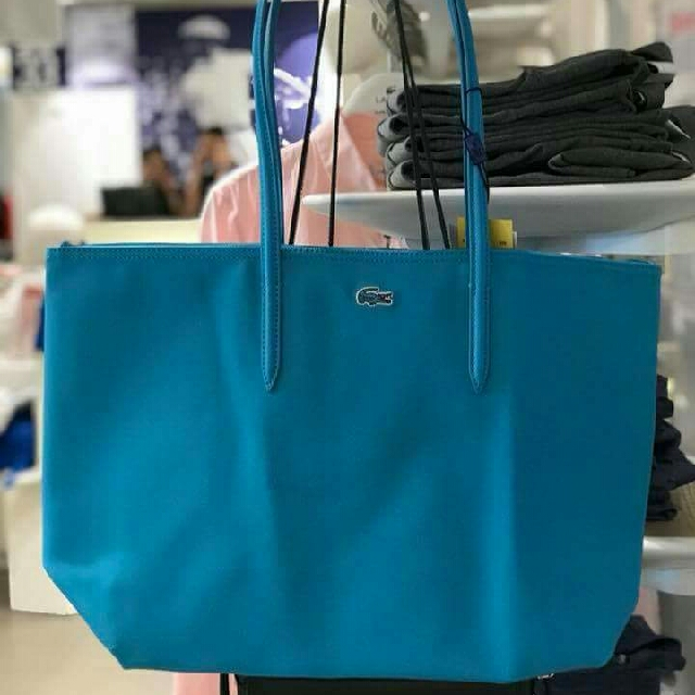 Auth Lacoste Tote Bag