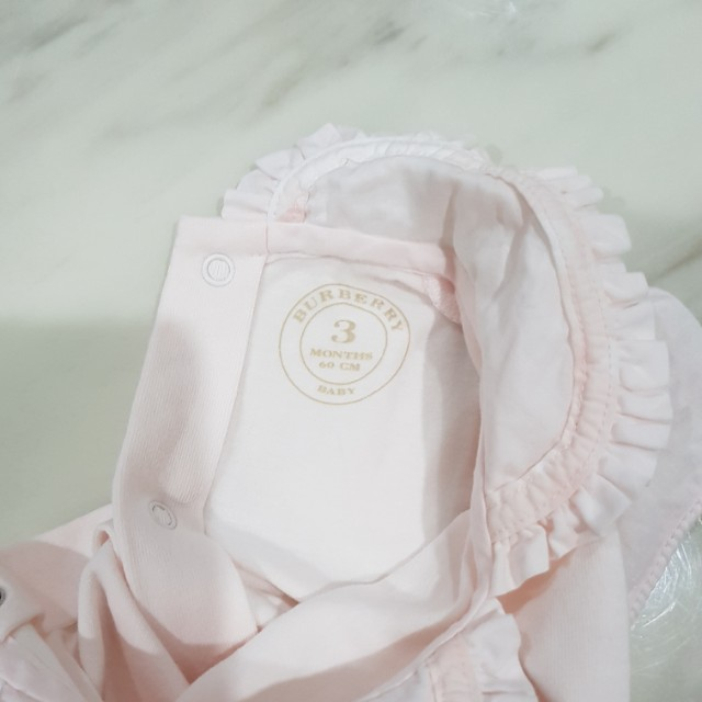 cdf8bb4e8831 Authentic Burberry Baby Girl Romper, Babies & Kids, Girls' Apparel on  Carousell