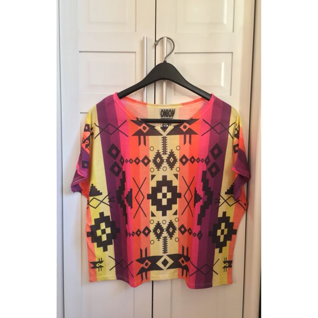 Aztec Printed Shirt