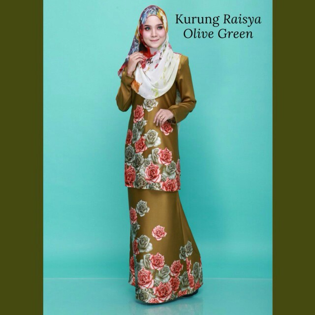 Model fashion dress raisya
