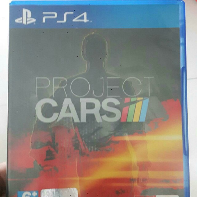 BD Project Cars PS4