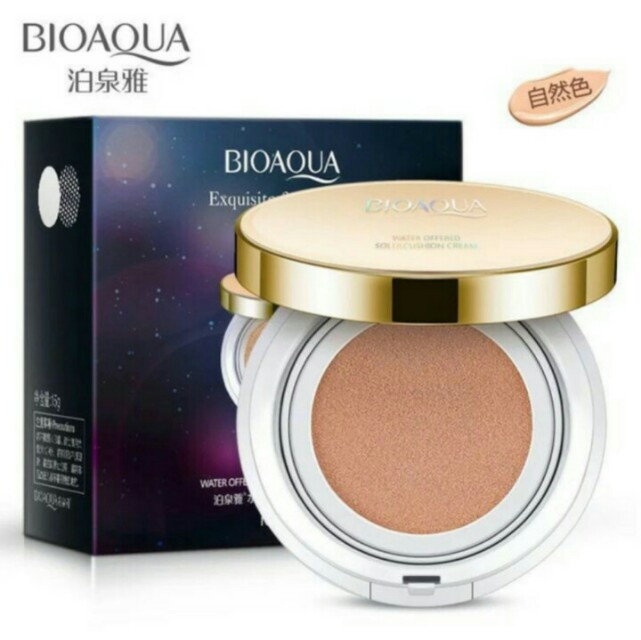 BIOQUA BB CUSHION GOLD EXCLUSIVE ORI 100%