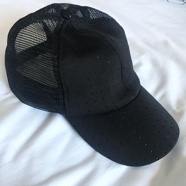 Black Adjustable Cap