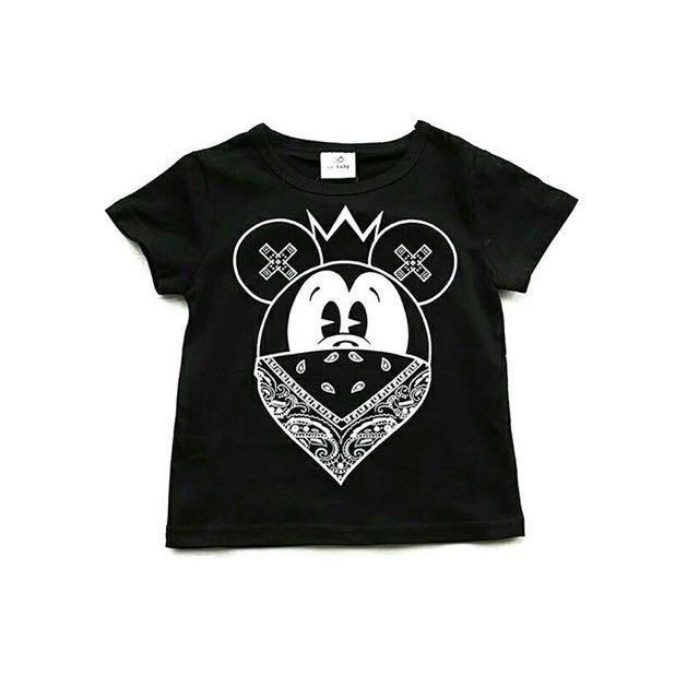 🔻Black Mickey Tee