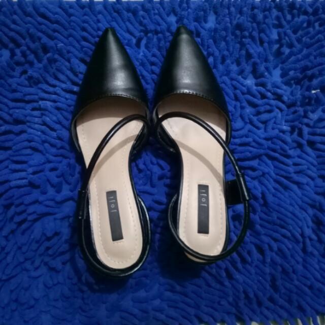 Black Strappy Stiletto Heels size 36