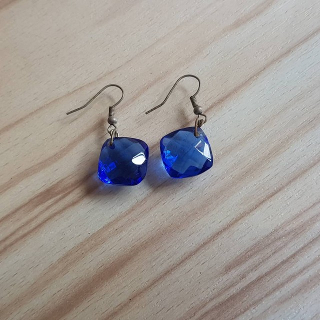 Blue Handmade Earrings