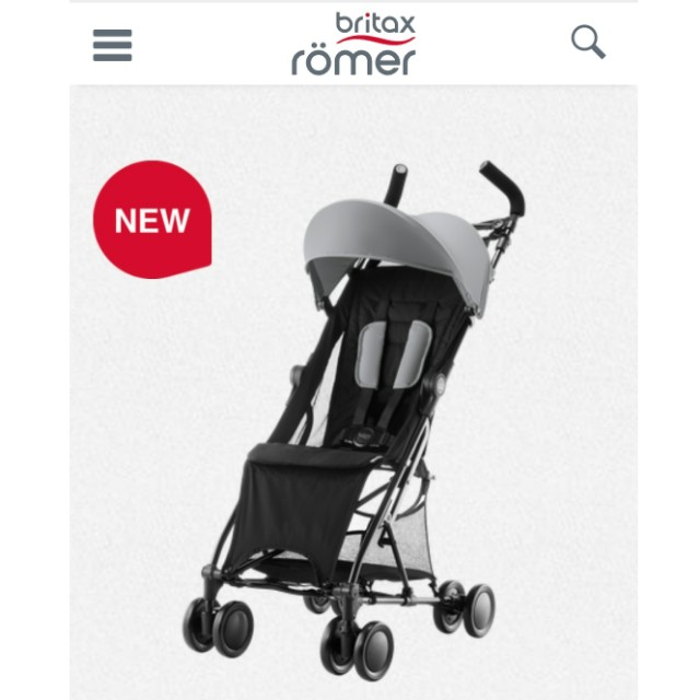 Britax Holiday - latest travel stroller from Britax