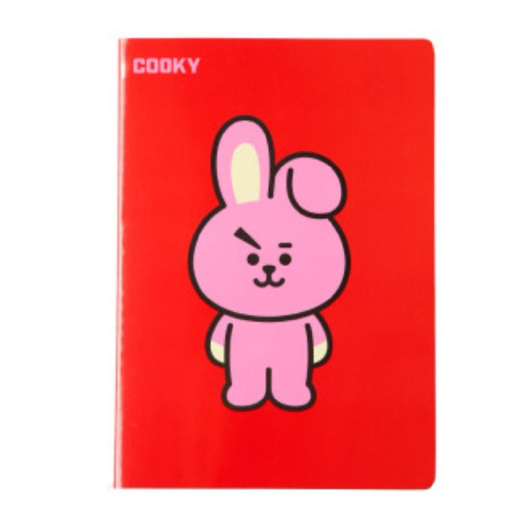 BT21 official COOKY A5 notebook (secured instock ...