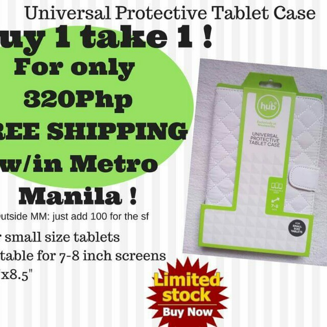 Buy 1 get 1 Universal protective tablet case