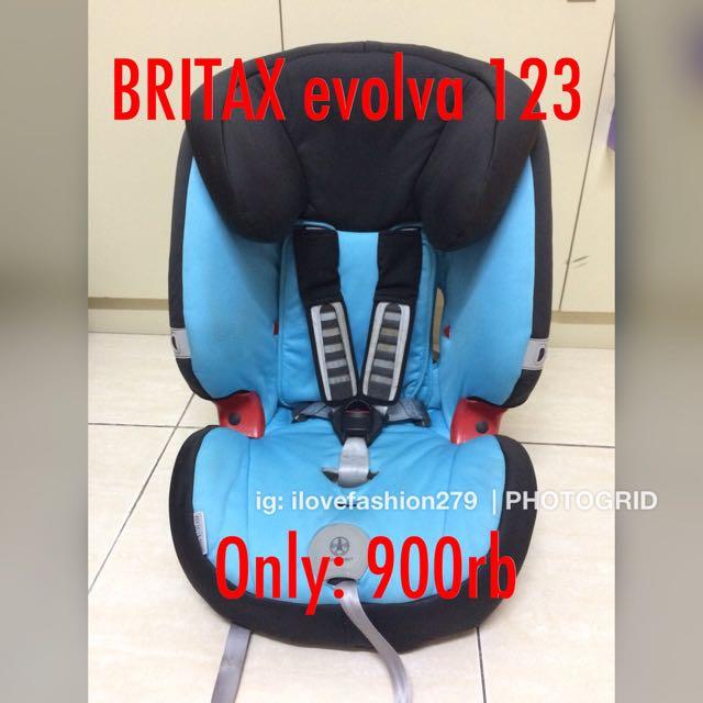 Car seat BRITAX evolva 123