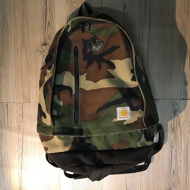 Carhartt WIP Parcel camp Backpack 迷彩 豬鼻 後背包