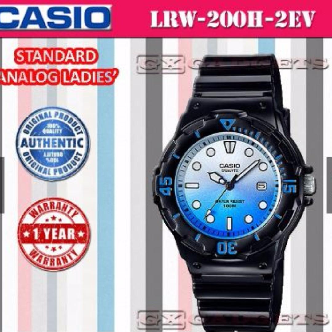 Casio Lrw 200h 1e Jam Tangan Wanita Rubber Strap Putih Daftar Original White Cherry Series Standard Analog Ladies Watch Date Rotary Bezel Wr100m Fesyen