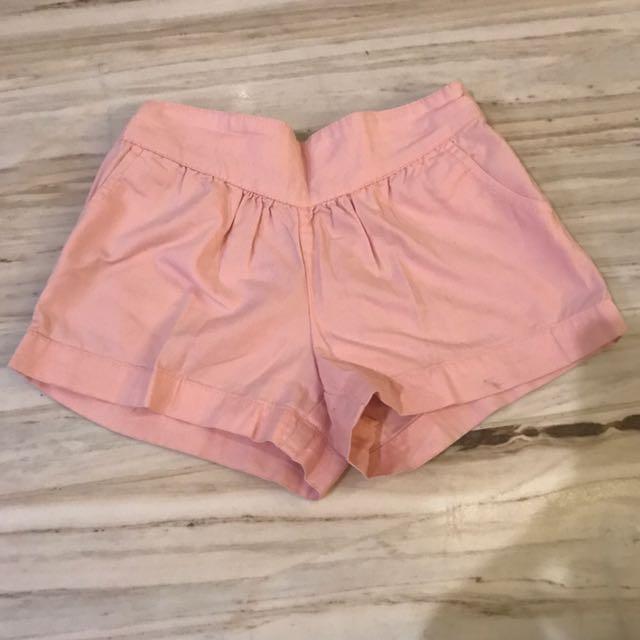 Celana pendek pink