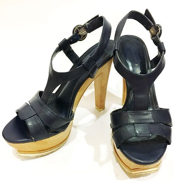 Charles And Keith Platform Open Toe