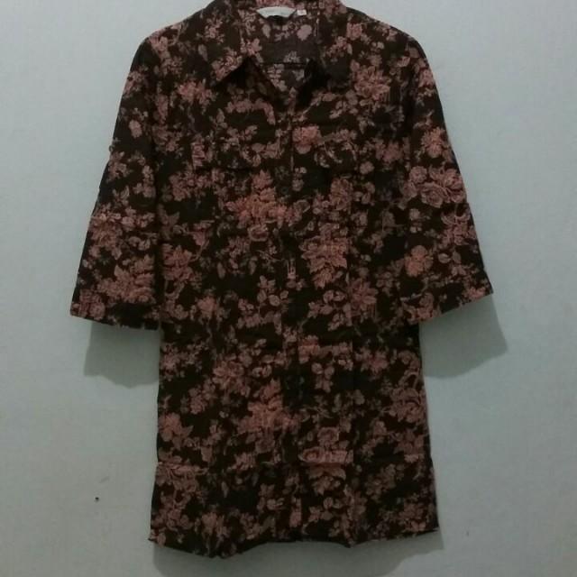 Choco Floral Shirt