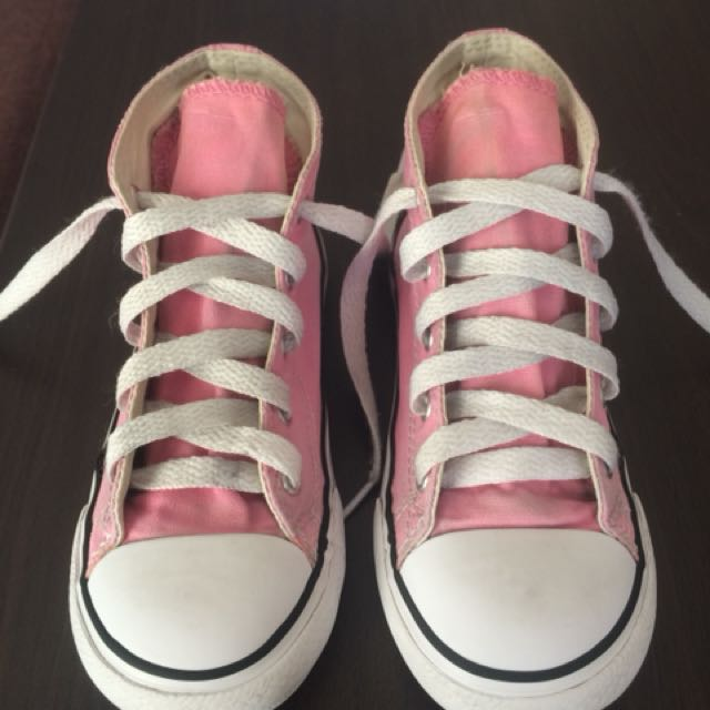 Converse Kids High-cut Pink