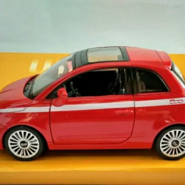 Diecast Fiat 500