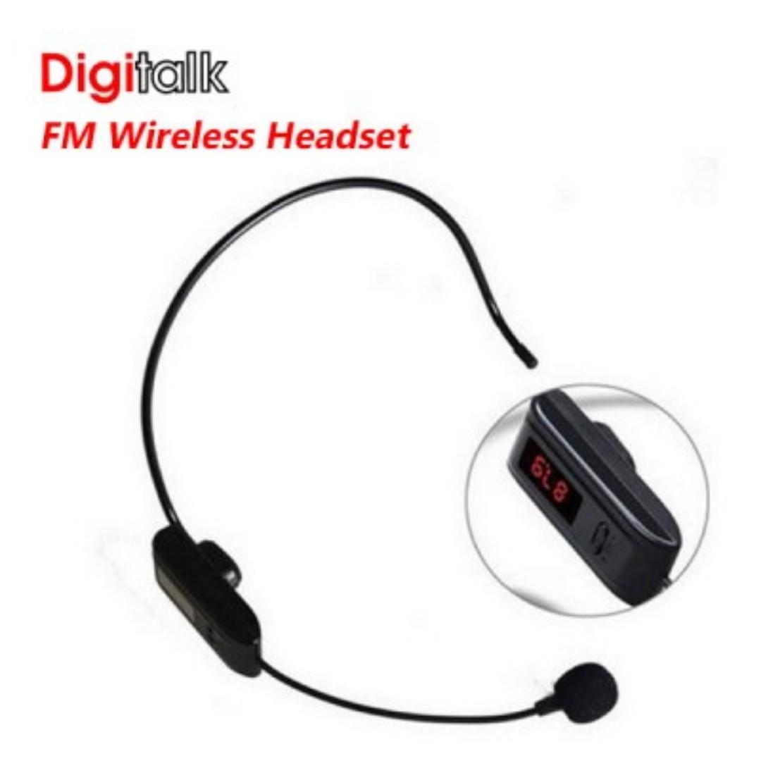 Digitalk FM Wireless Headset FOR F-37B SKU: V28-ELEDIGWIFM
