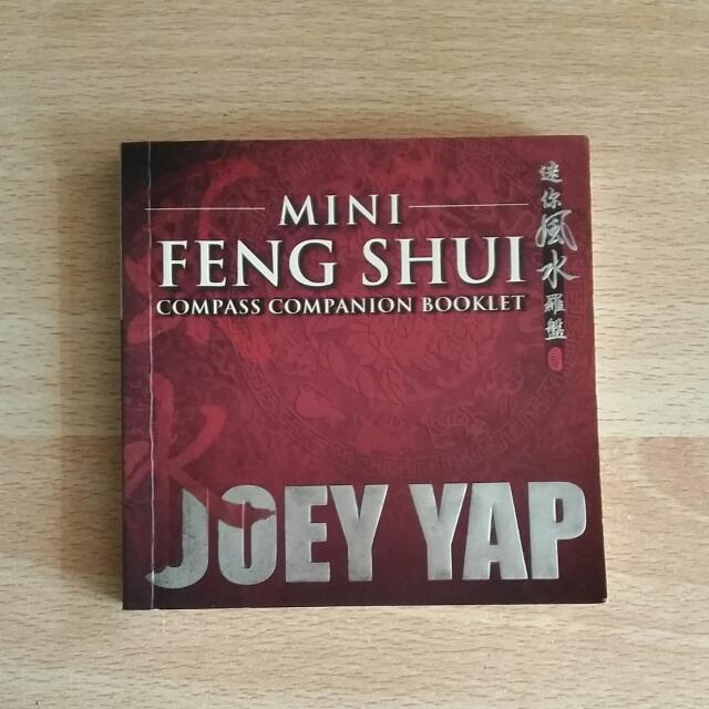 [Ed Bhs Inggris] Mini Feng Shui Compass Companion Booklet
