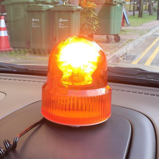 with amber light led view lighting leds moreinfo profile beacon super beacons strobe bright