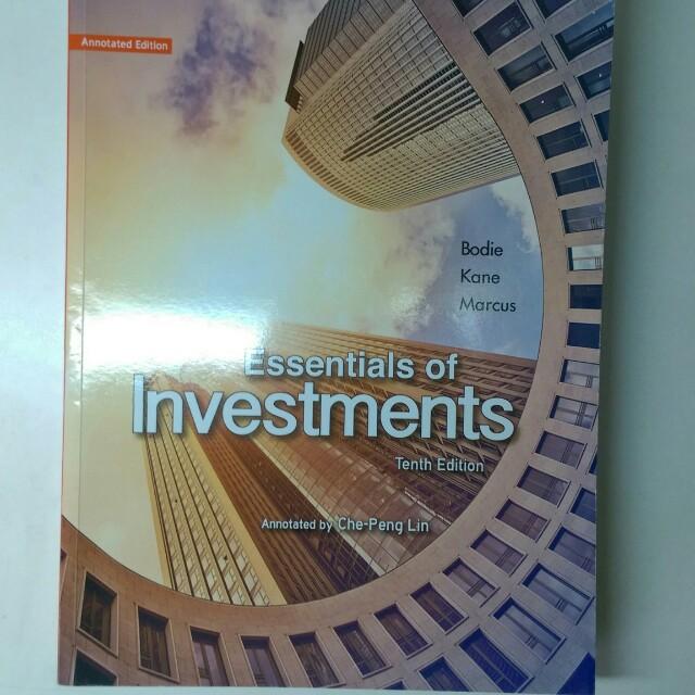 Essentials of Investments 10e