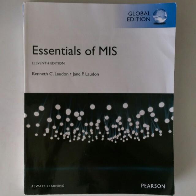 Essentials of MIS 11e