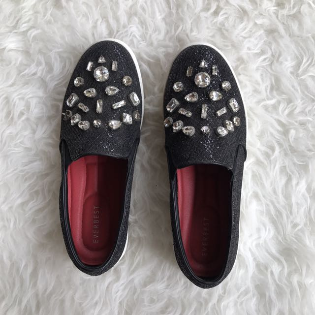 Everbest beads shoes 38