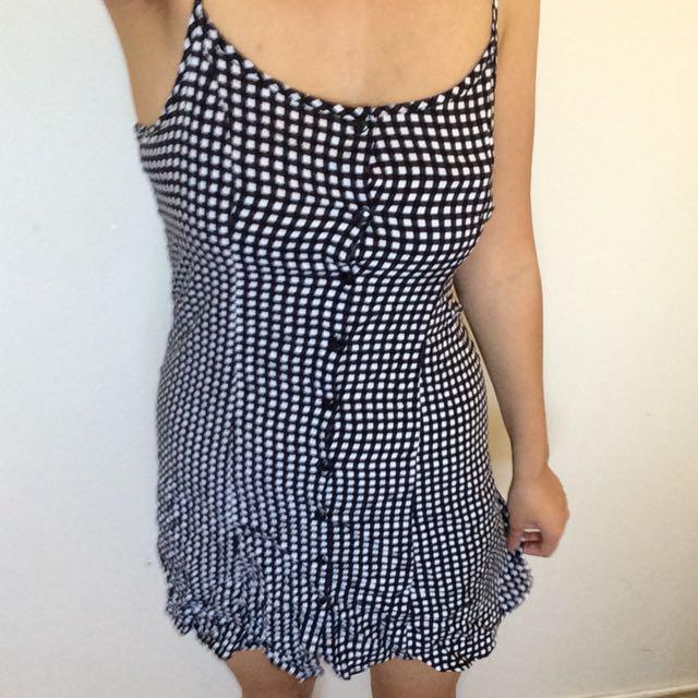 Factorie gingham check dress