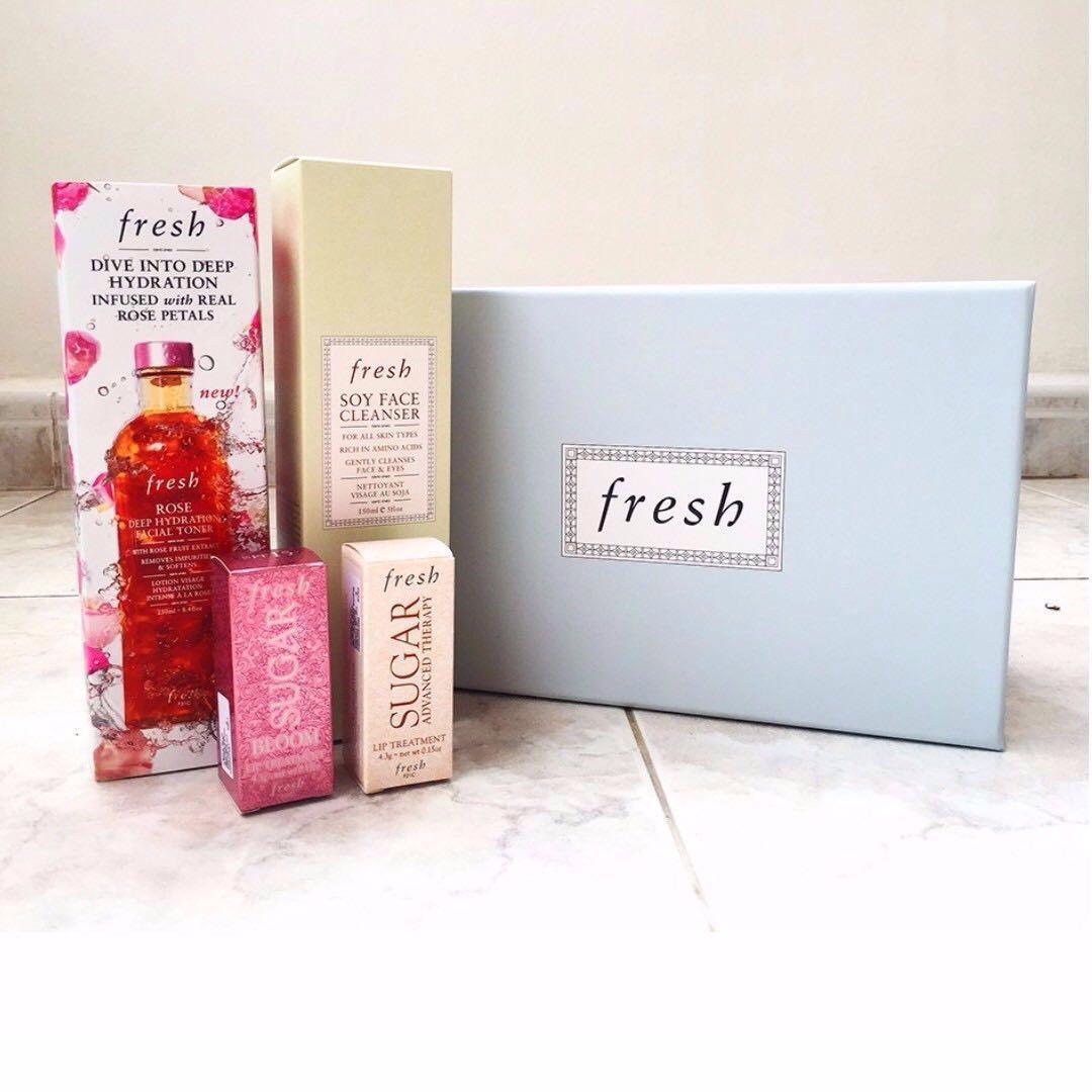 Fresh Skincare Gift Set Health Beauty Bath Body On Carousell