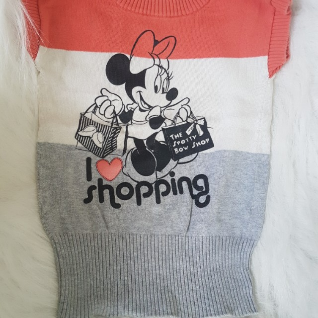F&X Knitted Minnie Mouse Top