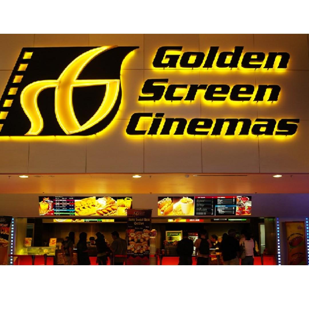 GSC golden screen cinema movie ticket  #Bajet20