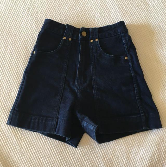 High waisted Lee shorts