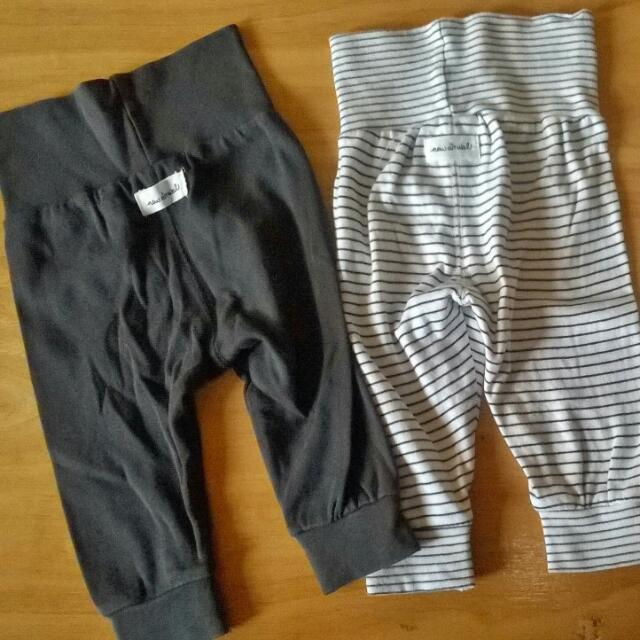 hnm jogger pants with free leggings