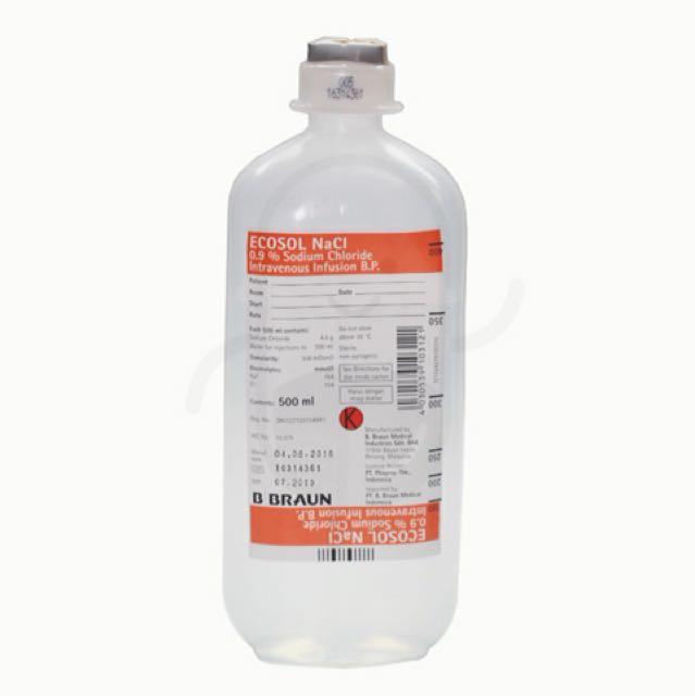 Inf ecosol NaCl 500 ml