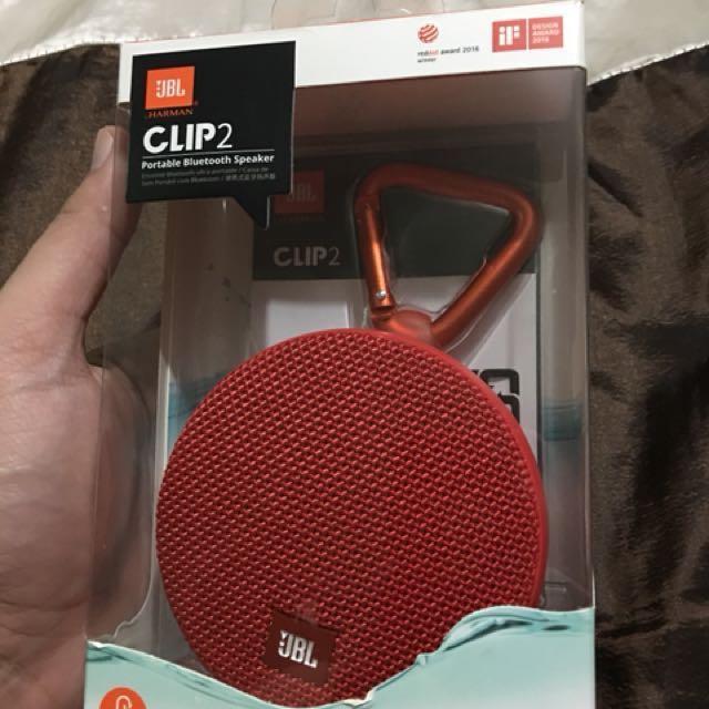 JBL Clip 2 bluetooth speaker *SOLD*