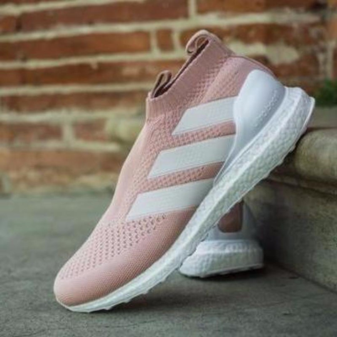 sports shoes 09606 6240d Kith x Adidas Ace 16+ PureControl Ultra Boost 'Vapour Pink ...