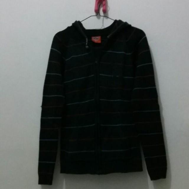 Knit Hoodie Jacket